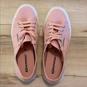 Superga pink sneakers EUC 39/8